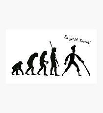 Evolution of insult swordfighting (Monkey Island) Photographic Print