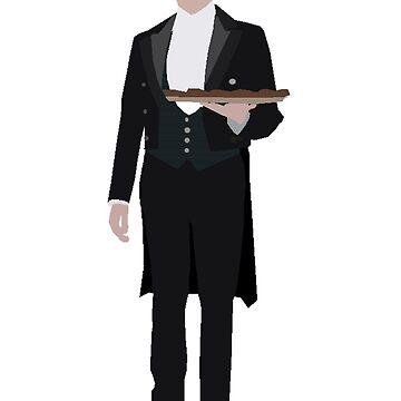 Downton Abbey - Thomas Barrow by consultingcat