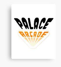 Palace Arcade (stranger things) Canvas Print