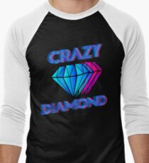 Crazy diamond Men's Baseball ¾ T-Shirt