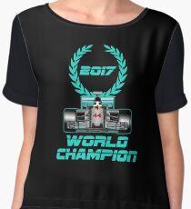 Lewis Hamilton F1 2017 World Champion Women's Chiffon Top