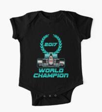 Lewis Hamilton F1 2017 World Champion One Piece - Short Sleeve