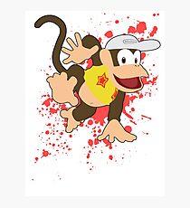 Diddy Kong (Yellow Alt.) - Super Smash Bros Photographic Print
