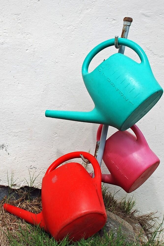 Watering cans by Arie Koene