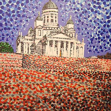 Helsinki Cathedral by hoganartgarage