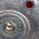 Silver plate at the souk by marycarr