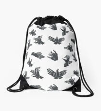 LittleBear Series - Shadow Play Drawstring Bag
