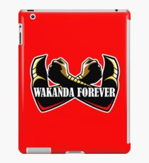 Wakanda Forever (Red) iPad Case/Skin