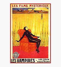 HD Vampires - 1917 Silent Film Photographic Print