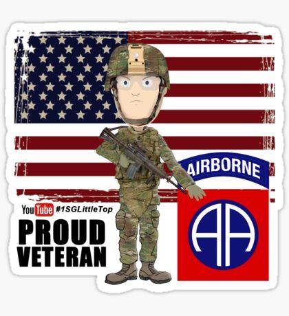 82nd Airborne Division - Proud Veteran Sticker