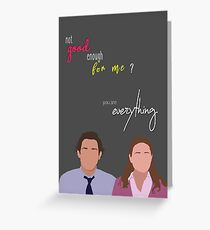 you are everything. Greeting Card