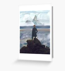 Wanderer above Dinky Island Greeting Card