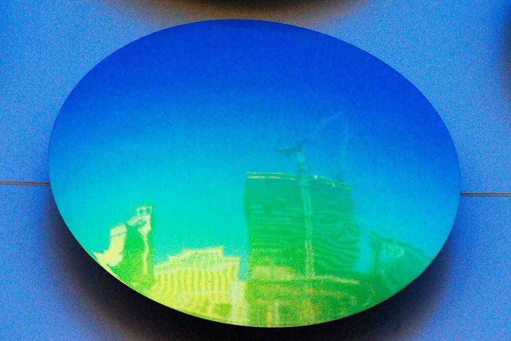 Las Vegas City Center Reflection by Habenero