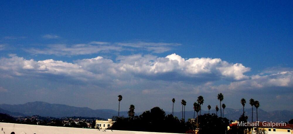In the sky by Michael  Galperin
