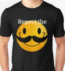 Respect the Moustache Unisex T-Shirt