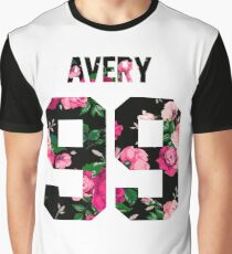 Jack Avery - Colorful Flowers Graphic T-Shirt