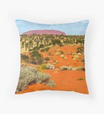 Uluru 01 Throw Pillow