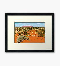 Uluru 01 Framed Print
