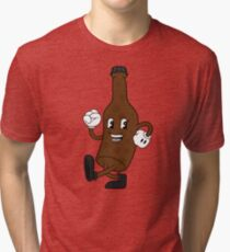 Beer on the Beat Tri-blend T-Shirt