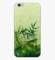 """Vinilo o funda para iPhone """"Forest leaves and plants"""""""