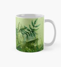 """Taza clásica """"Forest leaves and plants"""""""