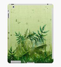 "Vinilo o funda para iPad ""Forest leaves and plants"""