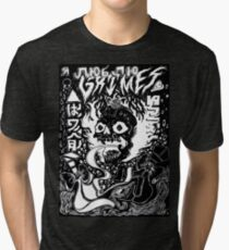 Grimes - Visions (Black) Tri-blend T-Shirt