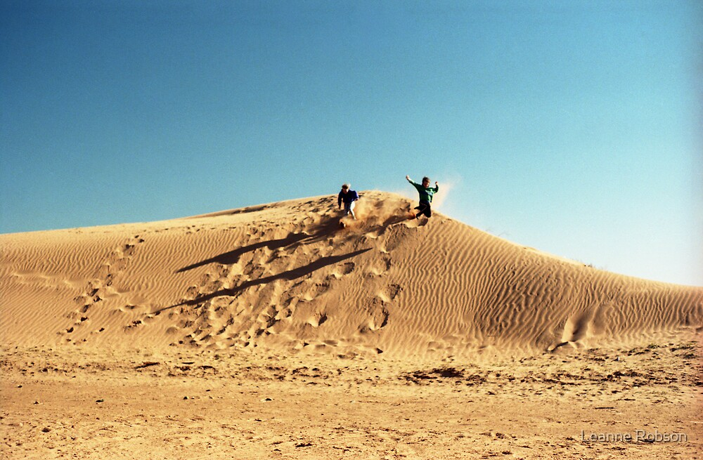 Dune Jump by Leanne Robson