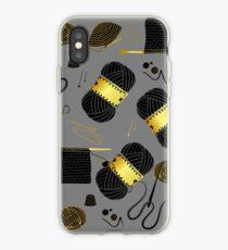 Golden Yarn iPhone Case