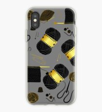 Golden Yarn iPhone Case