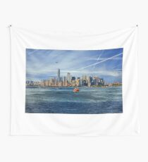 Staten Island Ferry Wall Tapestry