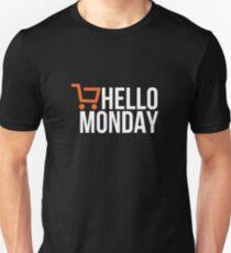 Hello Monday - Cyber Monday Unisex T-Shirt