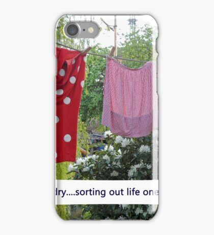 Happy Laundry iPhone Case/Skin