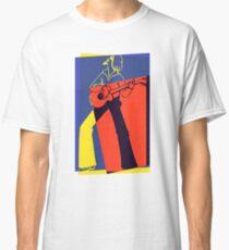 Retro Pop Art Guitarist Classic T-Shirt