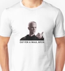 Spike, out for a walk - dark font Unisex T-Shirt