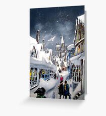 Winter magic Greeting Card