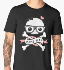 Skull Nerd  Men's Premium T-Shirt