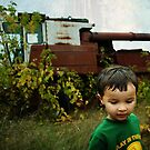 That old tractor by Shawn