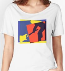 Rock Guitar Smash Women's Relaxed Fit T-Shirt
