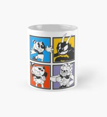 Cuphead colors mosaic Mug