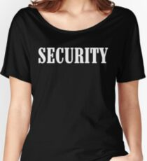 Security! Funny Geek Nerd Women's Relaxed Fit T-Shirt