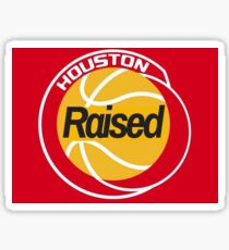 Houston Raised Sticker