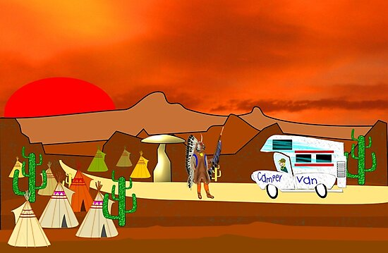 Is this a Good Campsite  by Dennis Melling