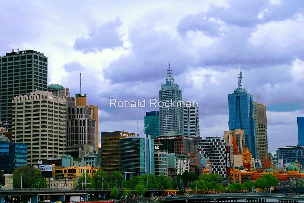 My Melbourne by Ronald Rockman