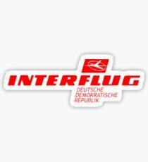 Interflug Sticker