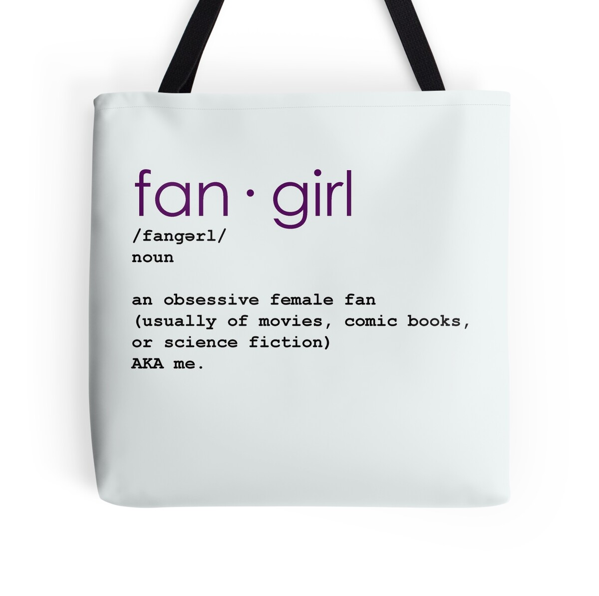 quot the meaning of quot fangirl quot quot tote bags by val mendes redbubble