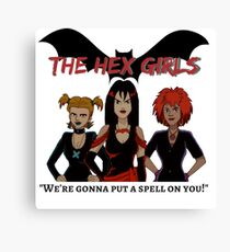 the hex girls Canvas Print