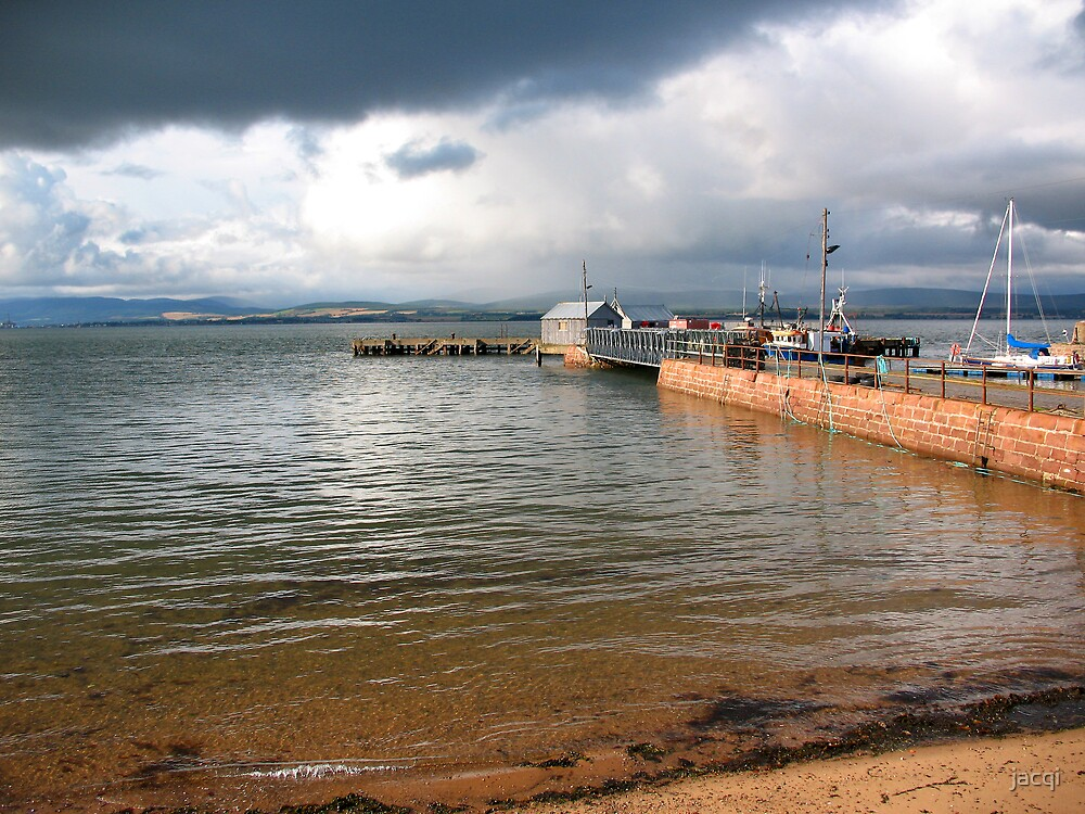 Cromarty Harbour Scotland by jacqi