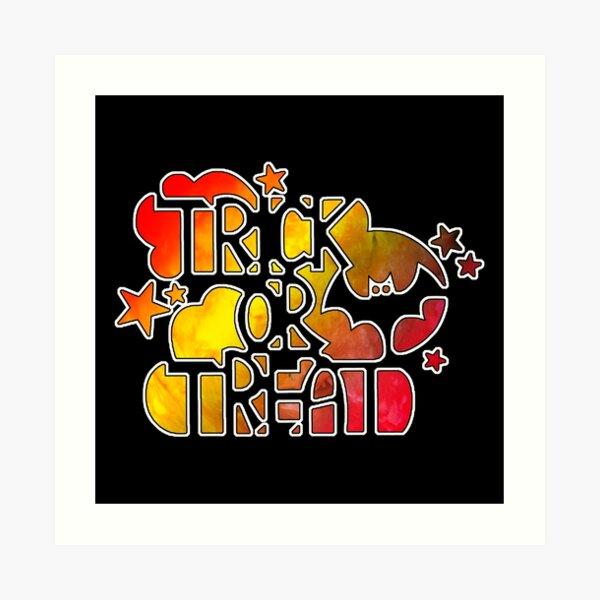Trick & Treat Art Print