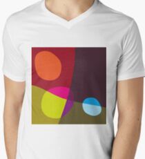 Abstract 'Tumbling Down No1' Men's V-Neck T-Shirt